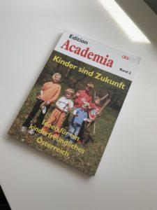 """Herausgabe """"Ideen für ein kinderfreundliches Österreich"""""""