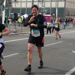 Teilnahme Berliner Halbmarathon