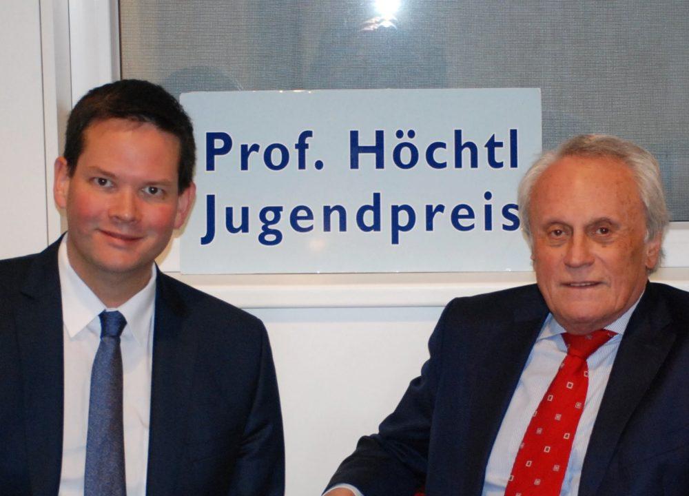 500 Euro für bestes Projekt: Professor Höchtl-Jugendpreis 2019 ausgeschrieben