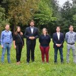Mein Office-Team (Foto von unserer Sommerklausur).