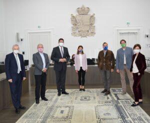 Mandl unterwegs: Im Salzburger Landtag für Arbeitsplätze und Sicherheit (05.11.2020)