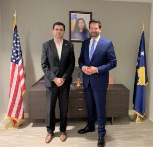 Besuch der Kosovo-Botschaft in den USA