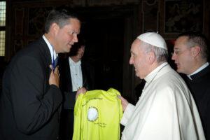 Besuch Papst Franziskus