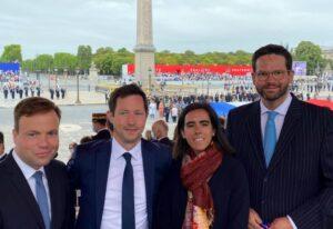 Programmarbeit in der größten Fraktion des Europa-Parlaments
